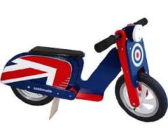 Kiddimoto Scooter Union Jack