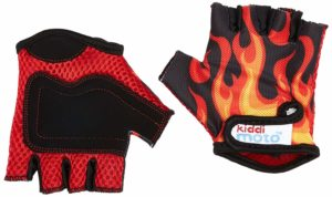 Kiddimto Bike Gloves Flames