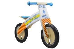 Kiddimoto Kurve Police Balance Bike